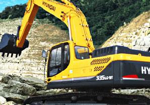 现代R335LC-9T挖掘机
