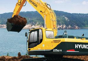 现代R225LC-9挖掘机