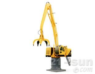 八达重工qlyd20dz-g电动液压固定式折叠臂抓斗起重机图片