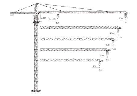 【多图】徐工qtz80-5610fj-6塔式起重机图片