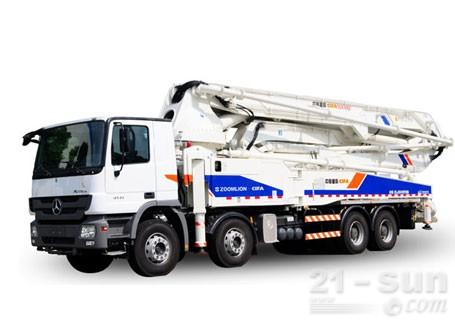 中联重科56米泵车多少钱?