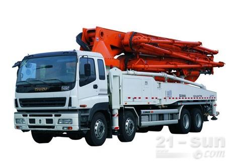 中联重科49x-6rz(四桥)混凝土泵车图片