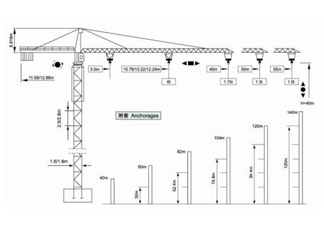 威源机械qtz63塔式起重机维修