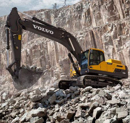沃尔沃ec350d挖掘机/属具