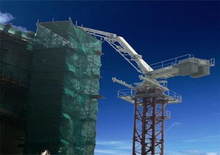 四川建机hg32混凝土布料杆报价图片