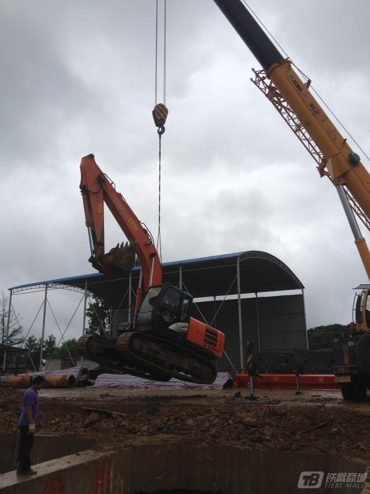 【施工图片】85吨的吊车