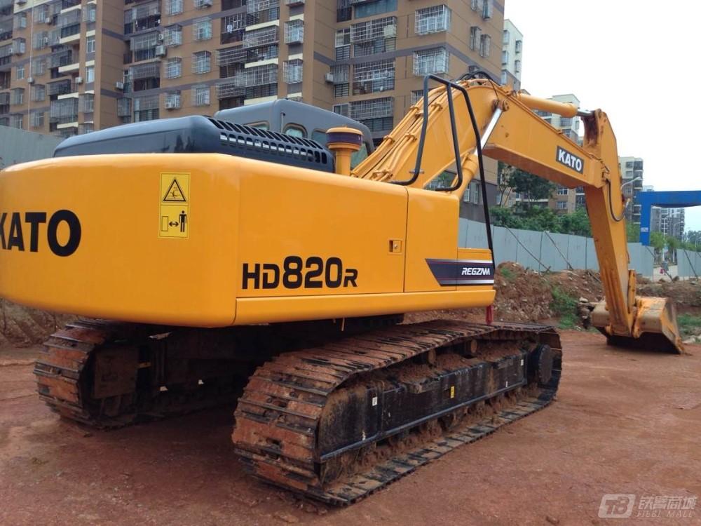 加藤hd820r挖掘机图片