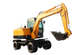 晋工jgm909l轮式挖掘机图片