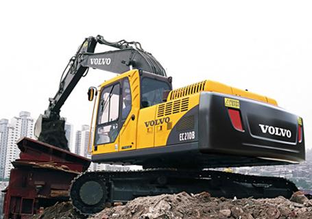 沃尔沃ec210b prime挖掘机代理商