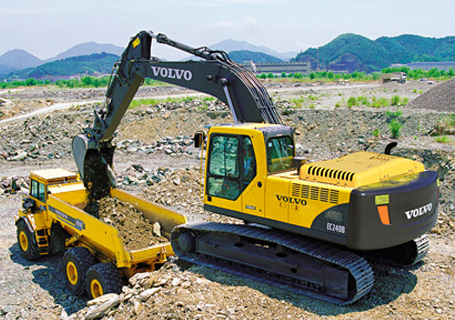 沃尔沃ec240b prime挖掘机代理商