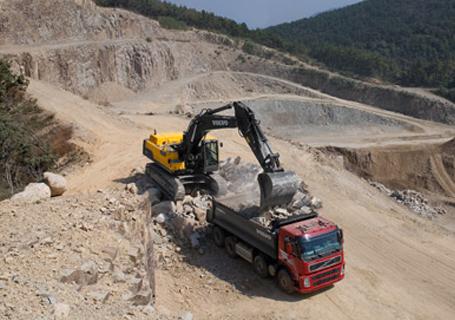 沃尔沃EC480D大型履带式挖掘机