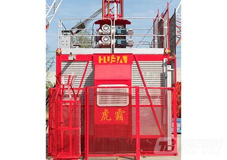 虎霸sc200/200kb双吊笼施工升降机