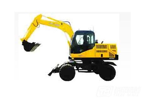 晋工jgm906l轮式挖掘机图片
