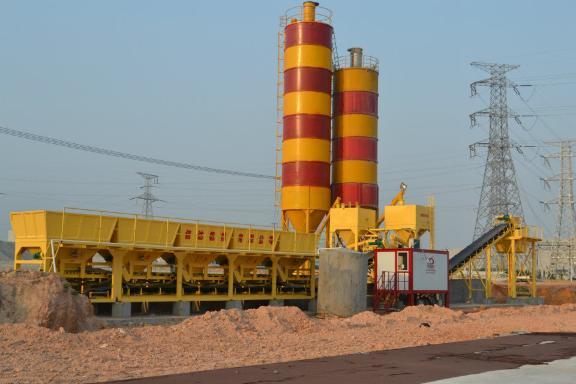 信达机械WBS300模块式稳定土厂拌设备