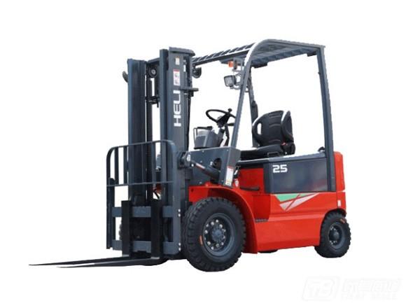 合力cpd20四支点h3系列2吨蓄电池平衡重式叉车口碑