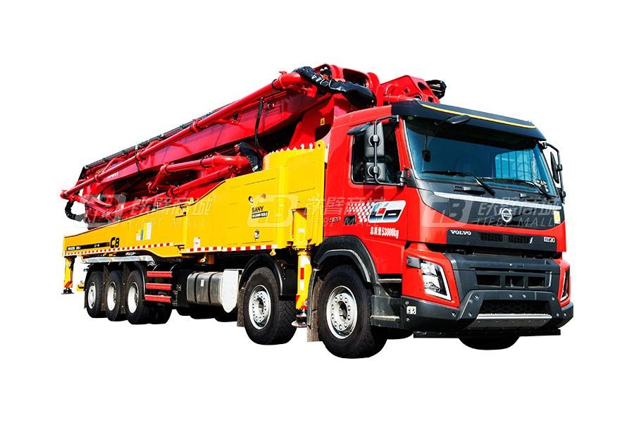 三一SYM5533THB 620C-8混凝土泵车