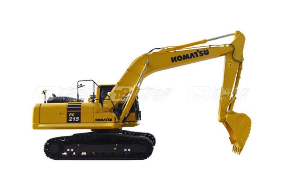 小松PC215-10MO履带挖掘机