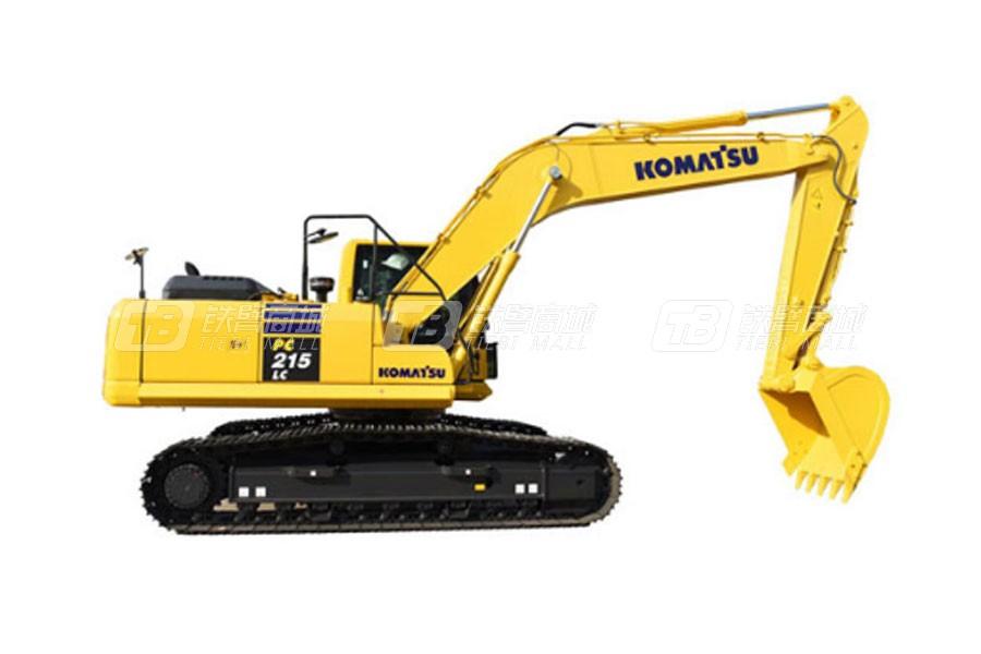 小松PC215LC-10MO履带挖掘机
