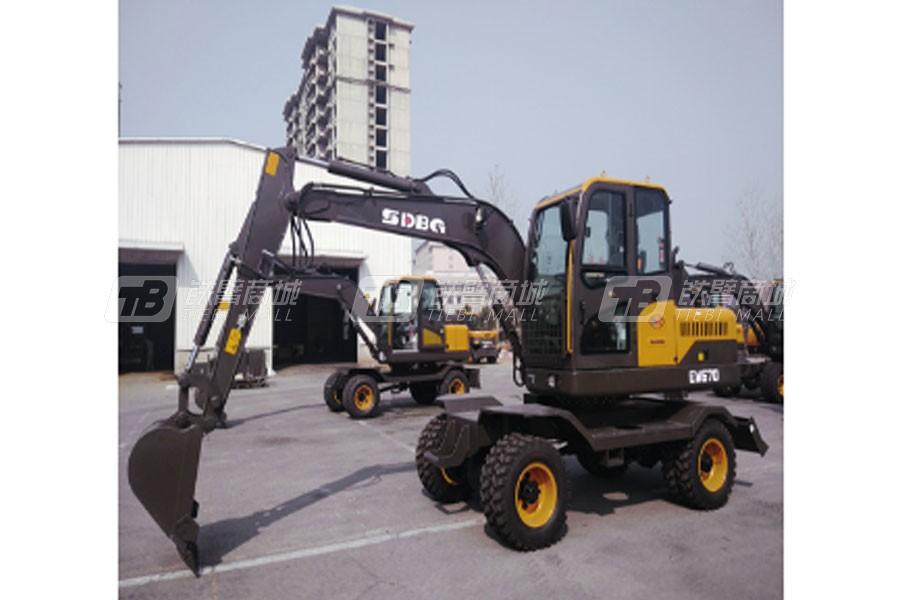 山东宝格EW670L轮式挖掘机
