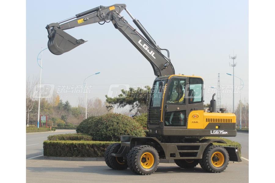 山东宝格EW675H轮式挖掘机