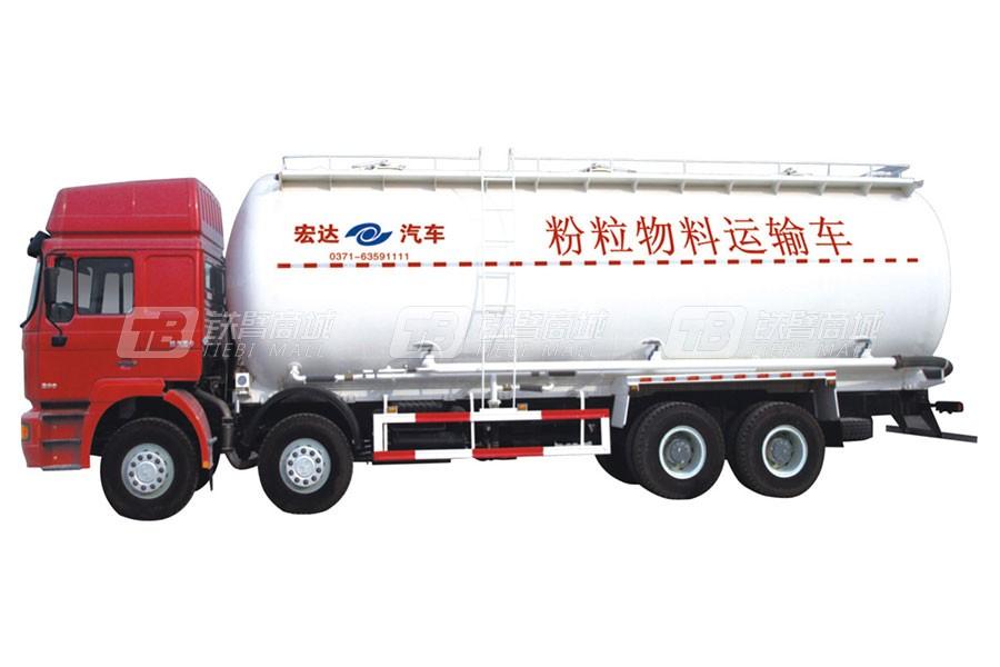 宏达汽车JYC5250GFLDFL1粉粒物料运输车