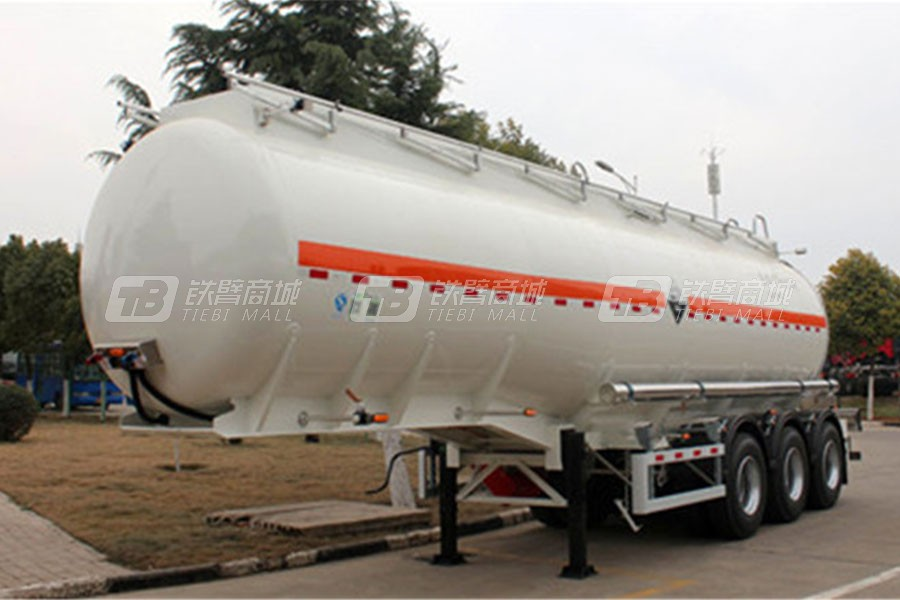 凌宇汽车氢氧化钠化工液体运输车液罐车
