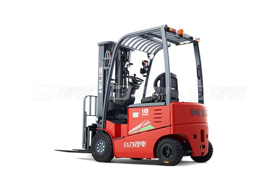 合力CPD10G系列1吨锂电池平衡重式叉车