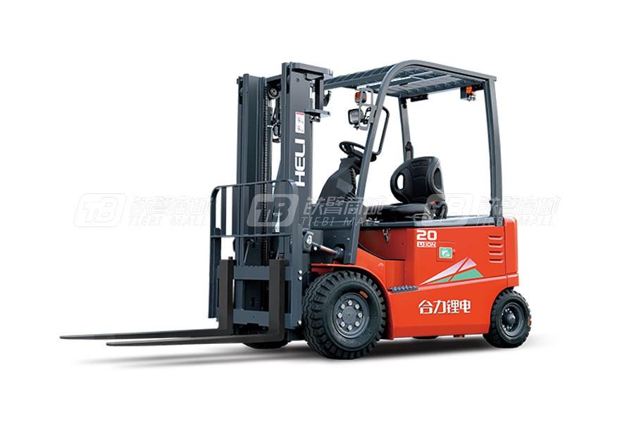 合力CPD20G系列2吨锂电池平衡重式叉车