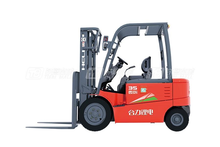 合力CPD30G系列3吨锂电池平衡重式叉车