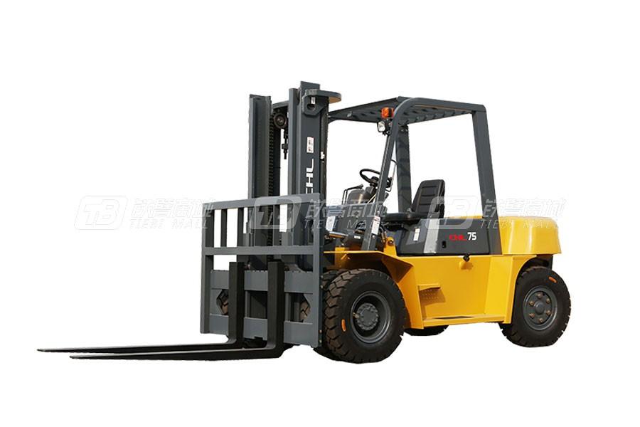 合力CPCD75CHL品牌7.5吨柴油平衡重式叉车(含石材车)