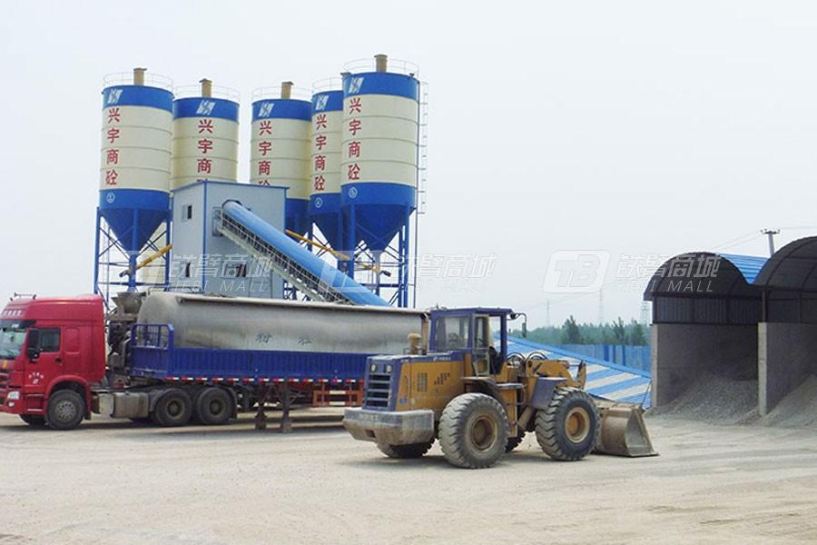 海山机械HLS180搅拌楼