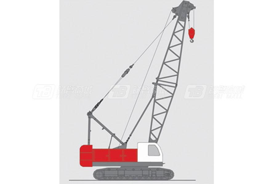 抚挖重工QUY70液压履带式起重机