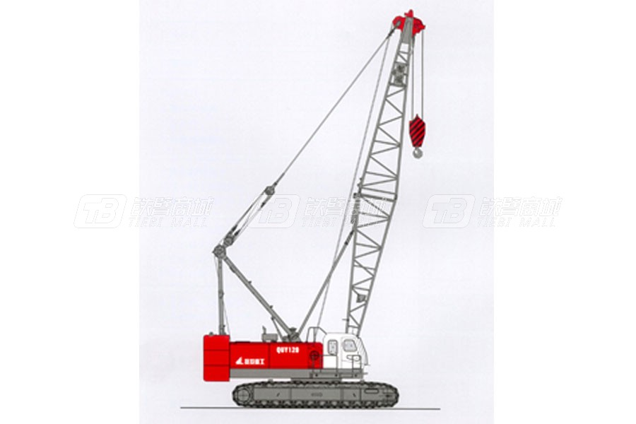 抚挖重工QUY70A液压履带式起重机