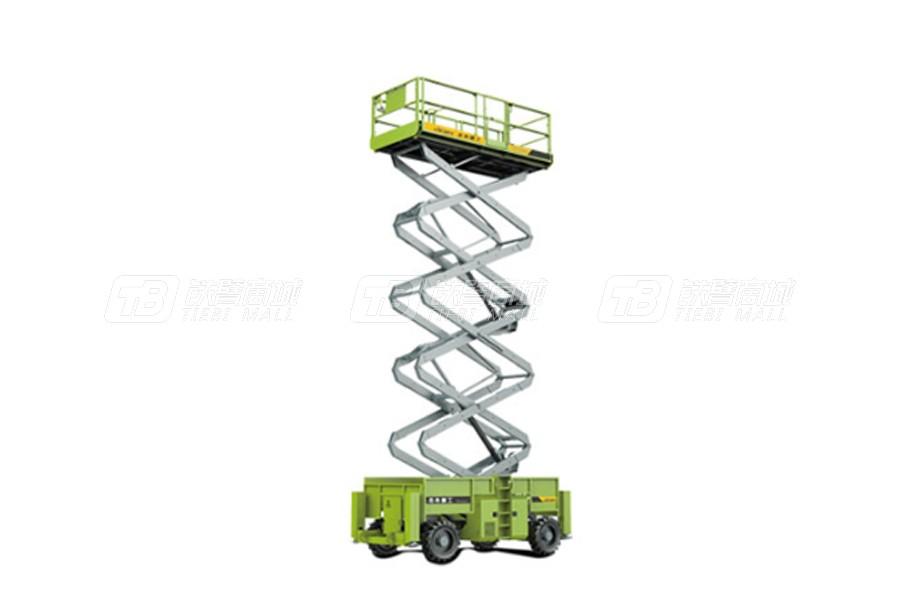 杰希重工RS1323D越野式剪叉高空作业平台