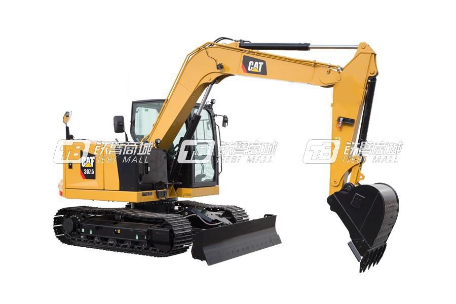 卡特彼勒新一代CAT<sup>®</sup>307.5小型液压挖掘机