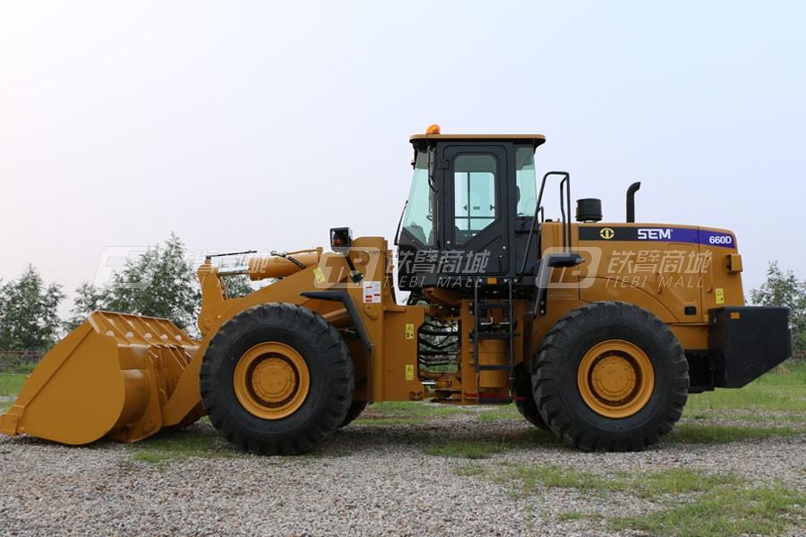 山工SEM660D(国内)轮式装载机