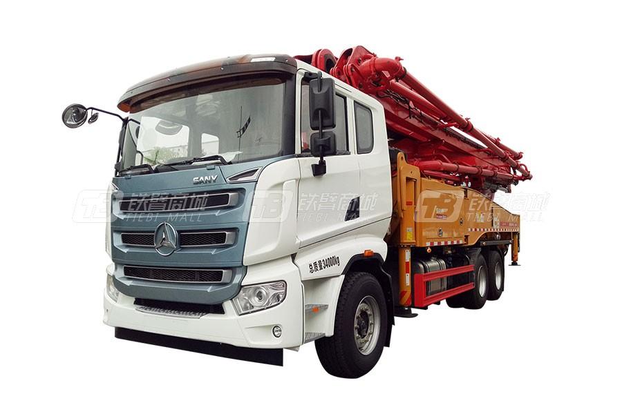 三一SYM5340THB 490C-8混凝土泵车