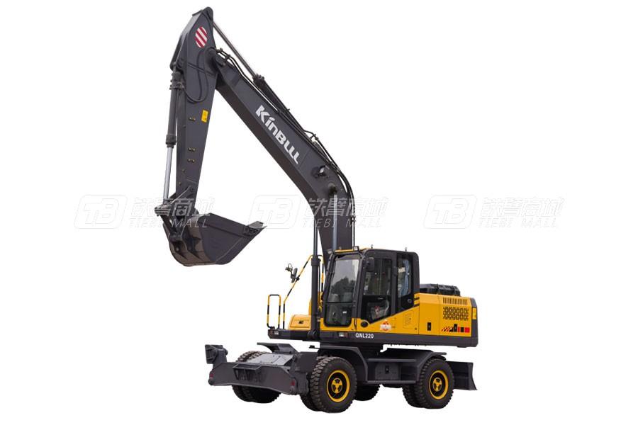 勤牛QNL70E轮式挖掘机