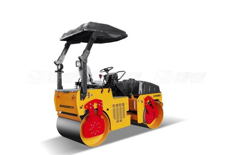 国机洛建GYD03双钢轮振动压路机