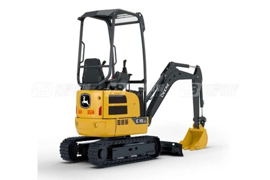 约翰迪尔E18Zs履带挖掘机