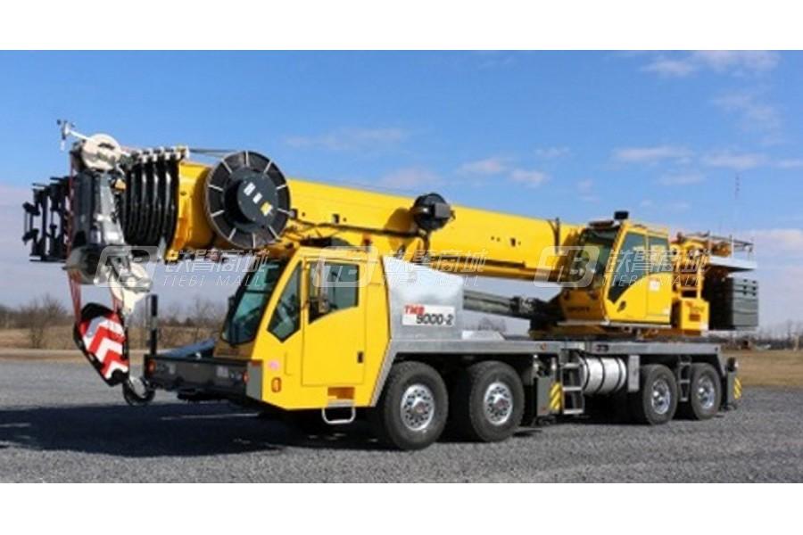 格鲁夫TMS500-2 (95 ft boom)随车起重机