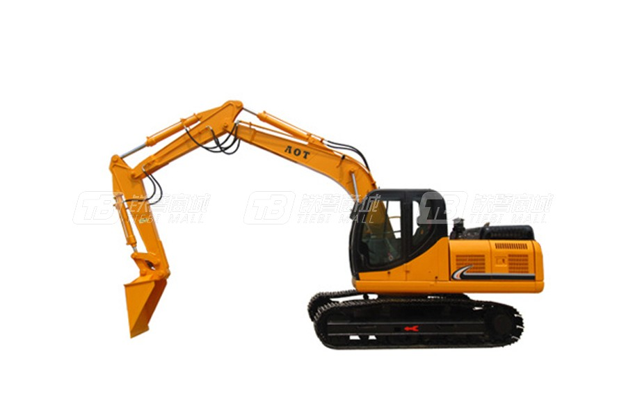 奥泰150E-9三节臂火车卸煤挖掘机
