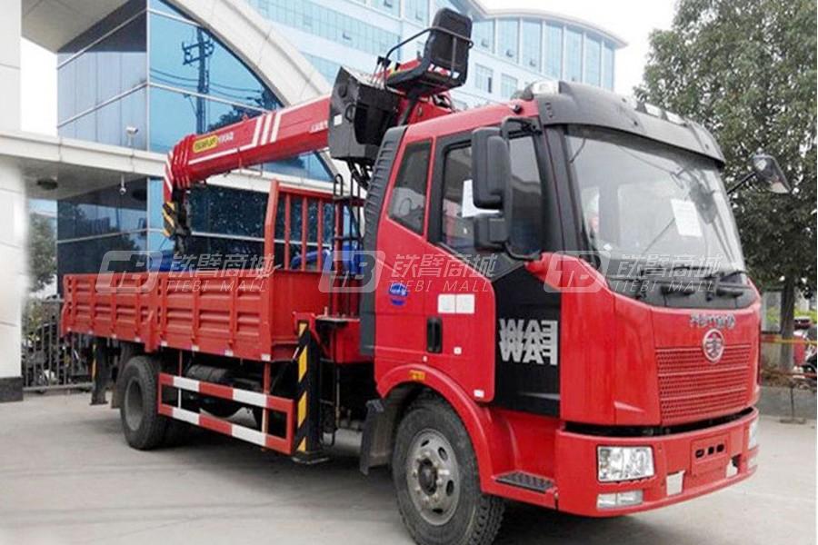 程力专汽解放5吨随车起重机
