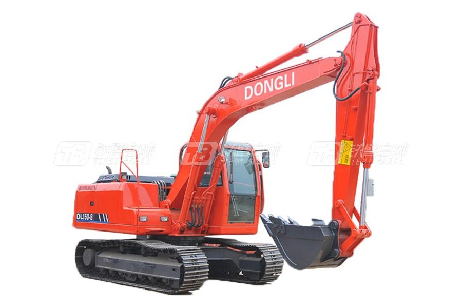 东力DL150-8履带挖掘机
