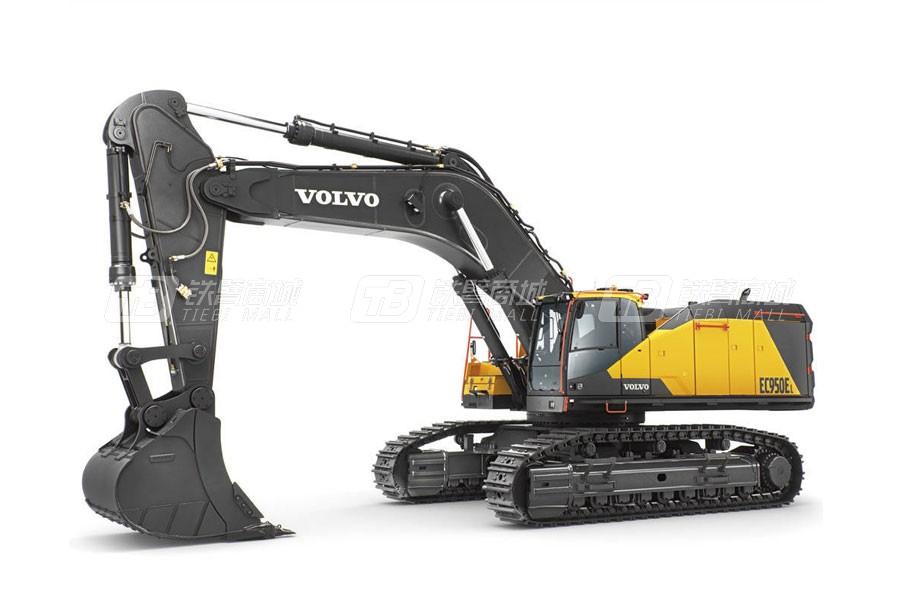 沃尔沃EC950EL大型履带式挖掘机
