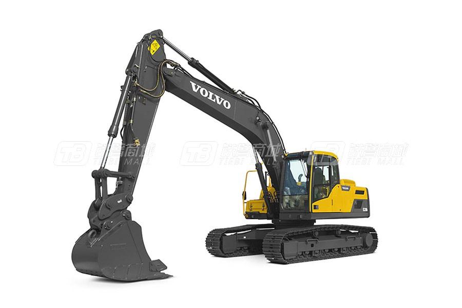 沃尔沃EC220DL中型履带式挖掘机