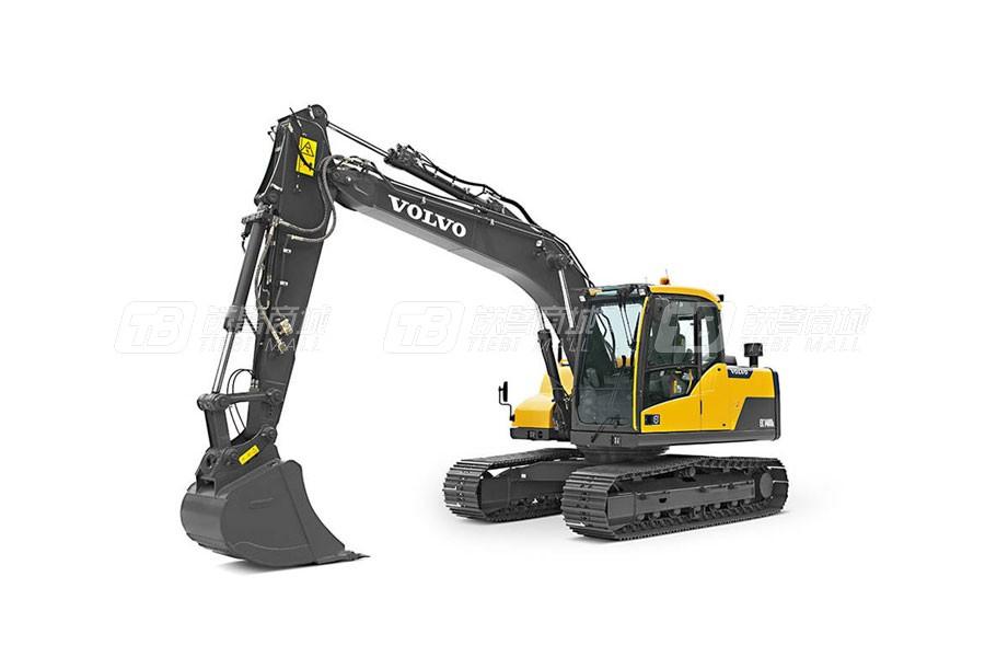 沃尔沃EC120D中型履带式挖掘机