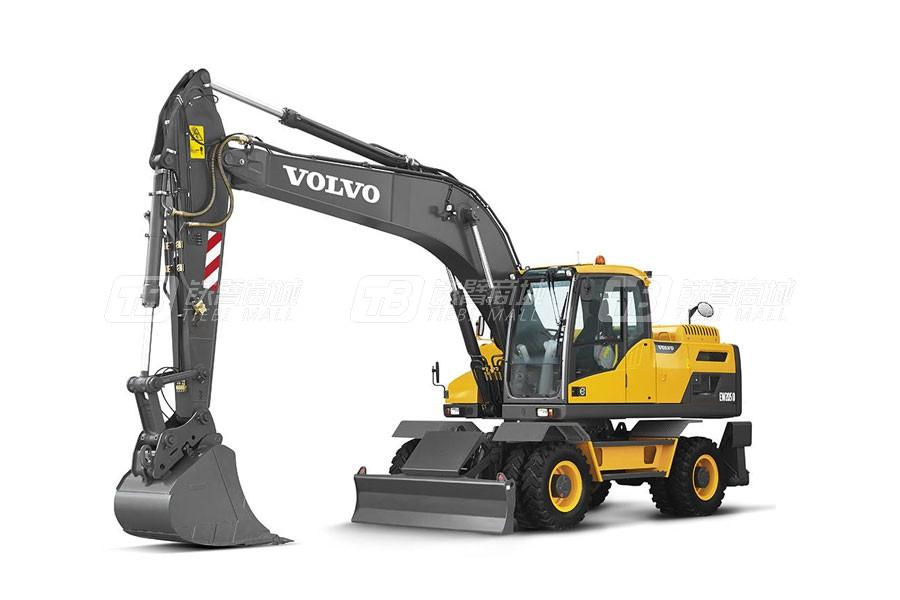沃尔沃EW205D中型轮式挖掘机