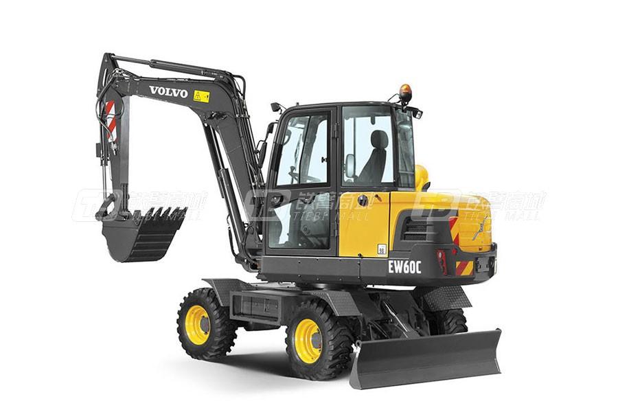 沃尔沃EW60C轮式挖掘机