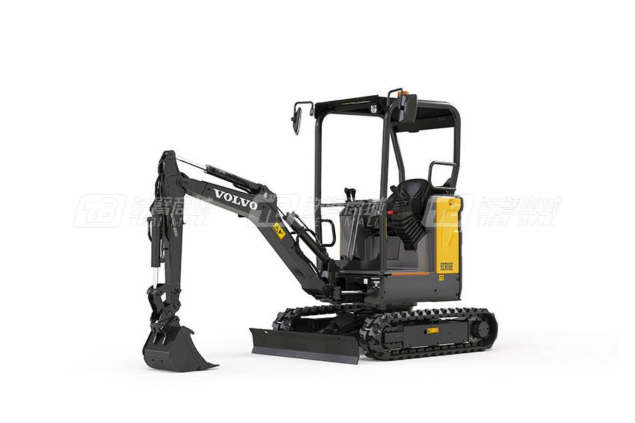 沃尔沃ECR18E小型挖掘机